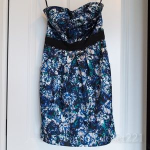 Max & Cleo Strapless Cocktail Party Dress Size 2